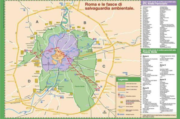 Domenica ecologica prevista a Roma per il 24 Marzo. In allegato il permesso di circolazione per raggiungere i campi di gioco