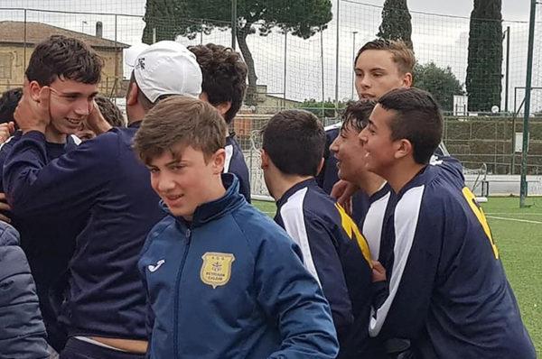 Under 15, Totti Soccer School 1-2 Petriana Calcio. Mister Di Tella racconta l'impresa compiuta dai suoi ragazzi