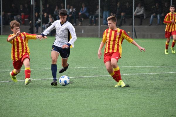 Under 14, Petriana Calcio 2-2 Sabazia Calcio. Pari e patta al Pio XII