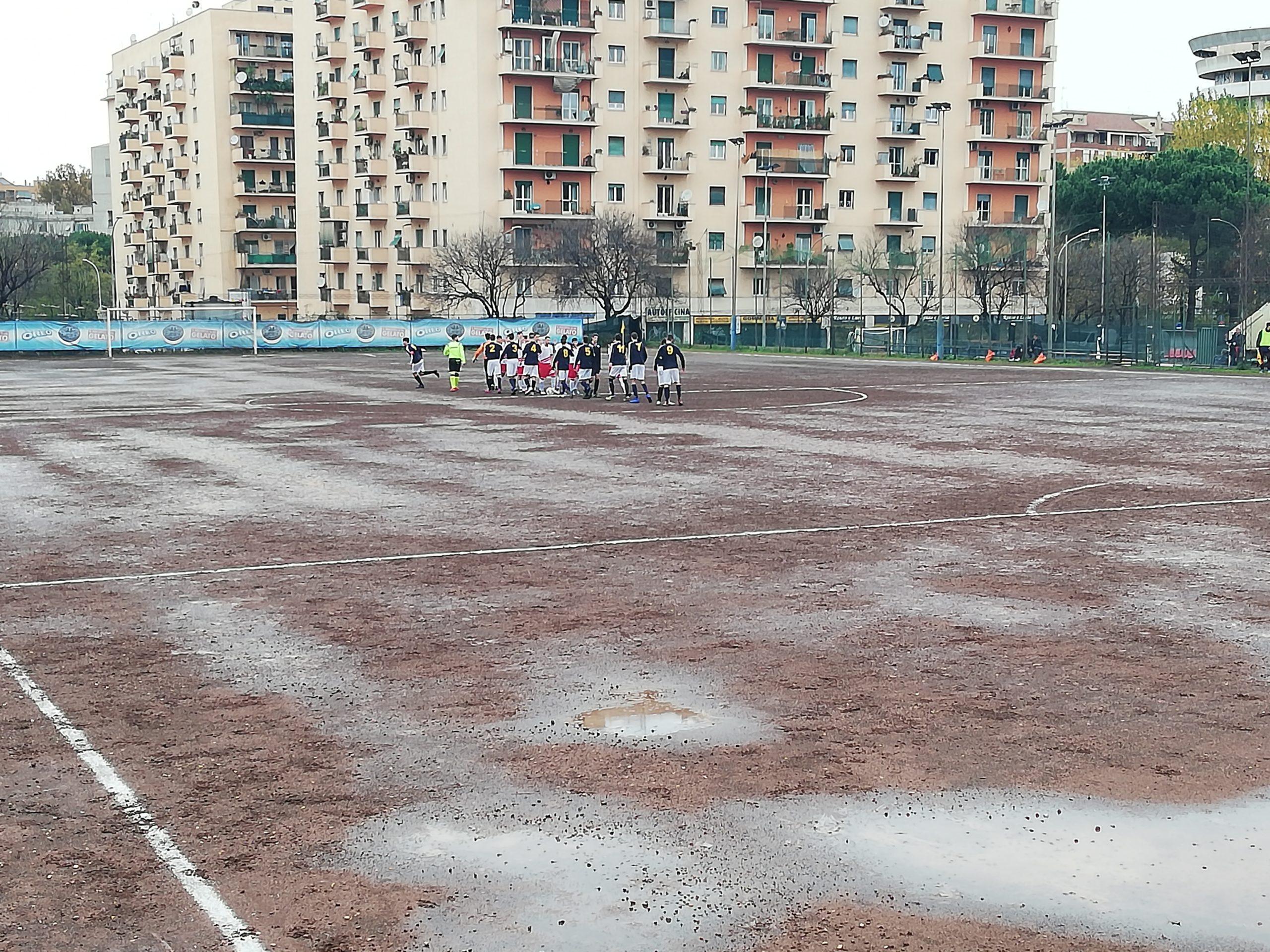 Under 19, G. Castello 3-1 Petriana Calcio. Ragazzi di Fiumicini fermati dal fango