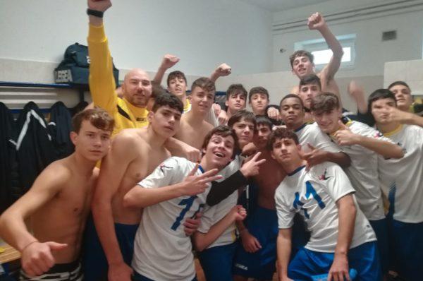 """Under 17, Petriana Calcio 3-2 Aurelio. Il derby è gialloblu. Fontana: """"Grandissimi complimenti ai miei giocatori"""""""